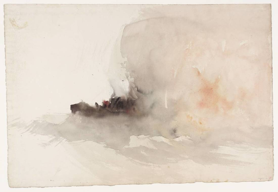 Joseph Turner Watercolour Tate Museum